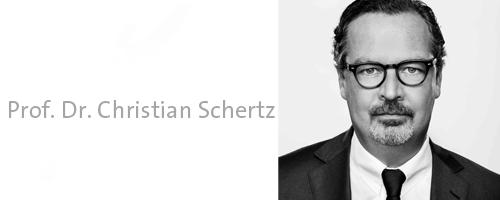 Prof. Dr. Christian Schertz